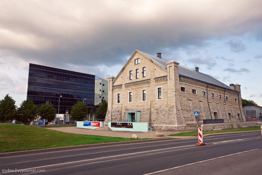 Эстония, Таллин, современная архитектура,  квартал Ротерманна