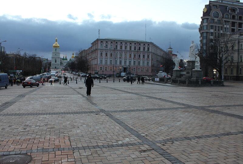 Евромайдан на Михайловской площади завершен