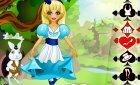 Игра для девочек винкс одеваем Алису из страны чудес!