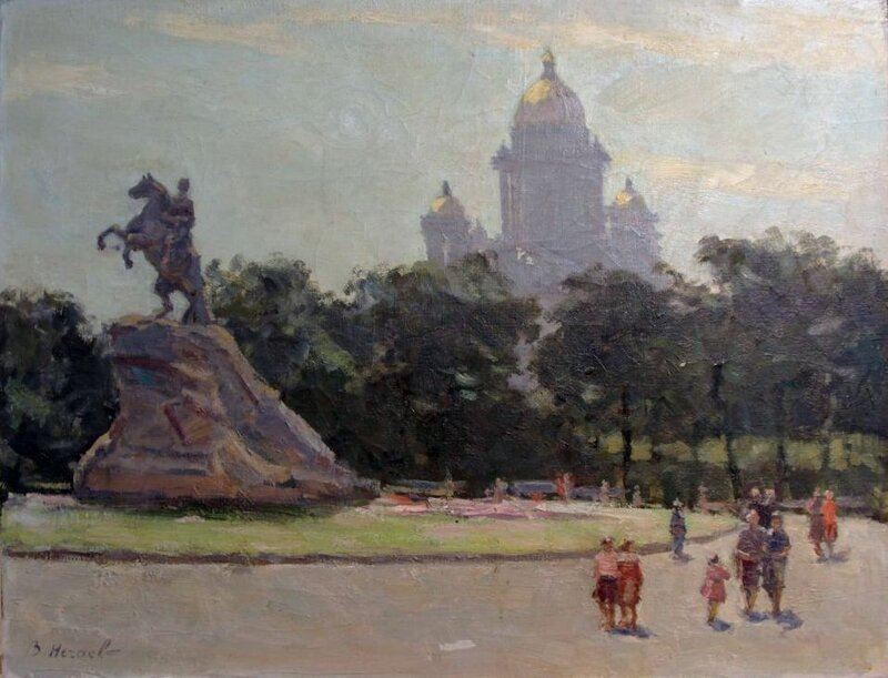 Нечаев В. Ленинград, 1960-е.