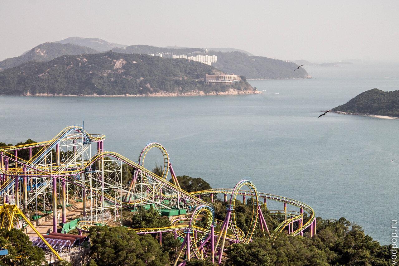 Ocean park в Гонконге - Оушен парк