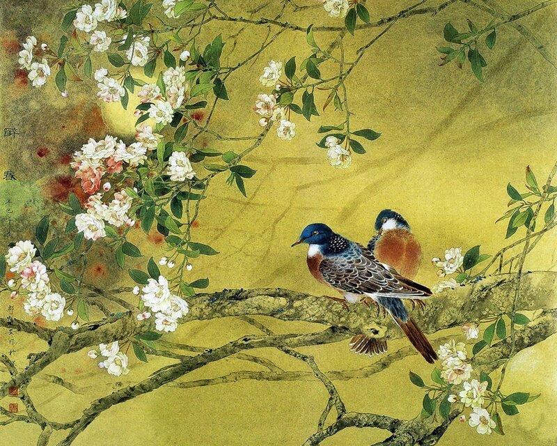 Китайский художник Zou Chuan-An