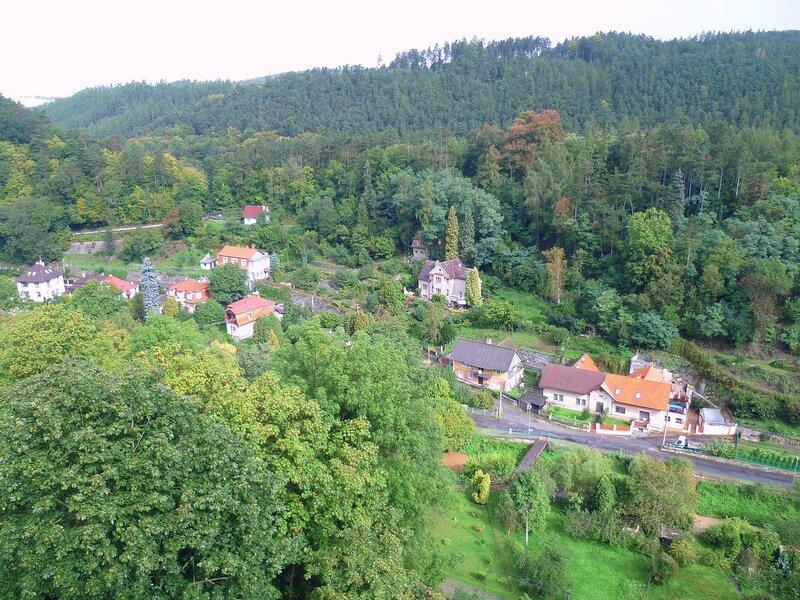 Чехия, около замка Кршивоклат (Czech Republic, near the castle Křivoklát)