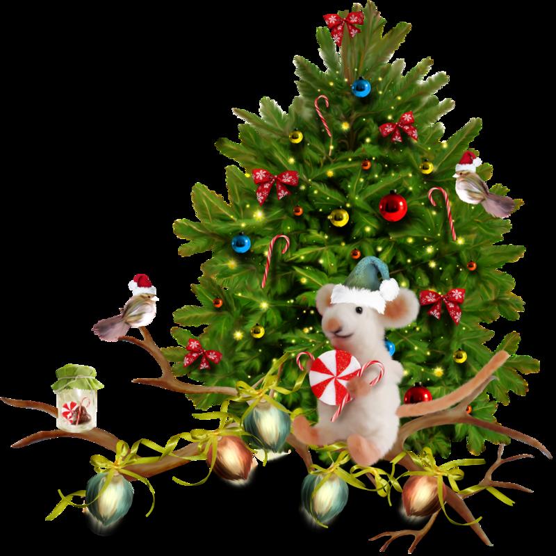 Картинки клипарт новый год зима елка