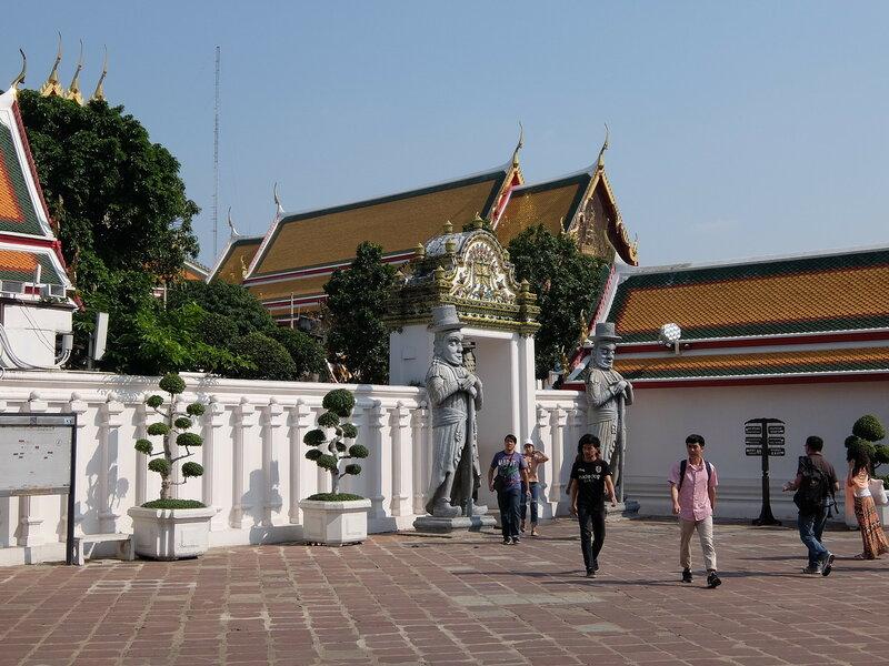 Бангкок - Туристы в Ват Пхо