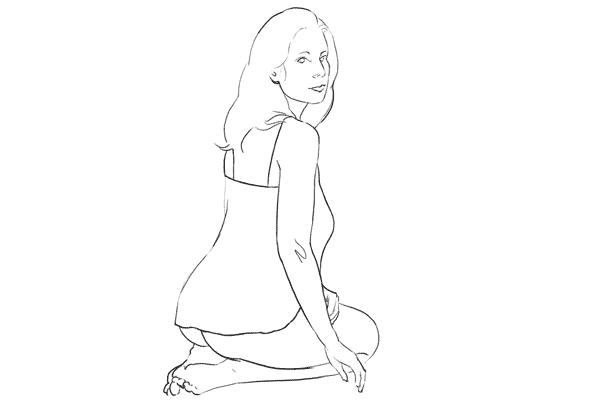 Позирование: позы для гламурного портрета 10