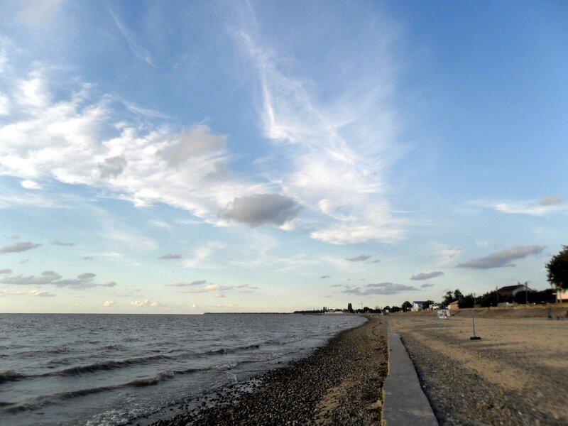 У моря, август