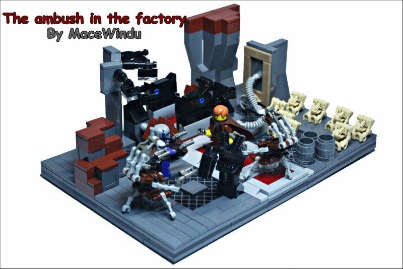 MOC] The ambush in the factory - LEGO Star Wars - Eurobricks Forums