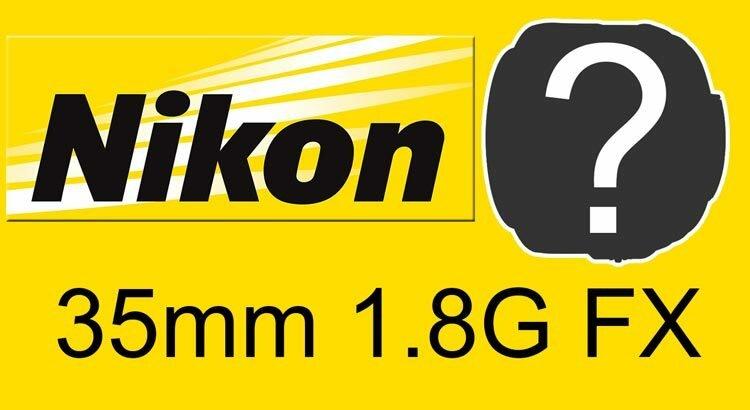 Nikon 35mm 1.8G FX