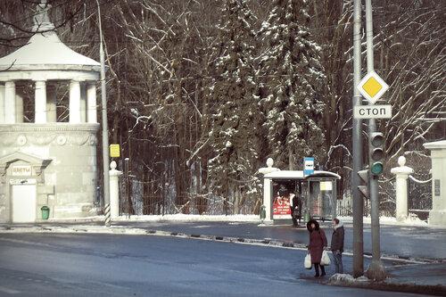 Зима над городом