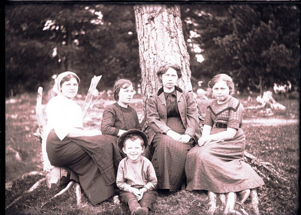 1912. Село Ларьяк. Русские жители