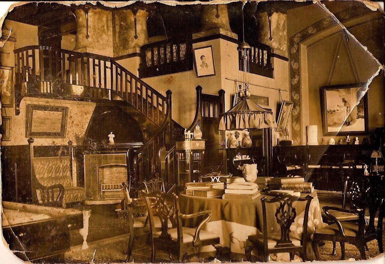 Утраченный интерьер парадного кабинета Николая II в Александровском дворце в Царском селе