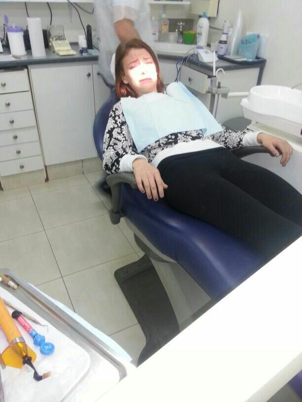В зубоврачебном кабинете