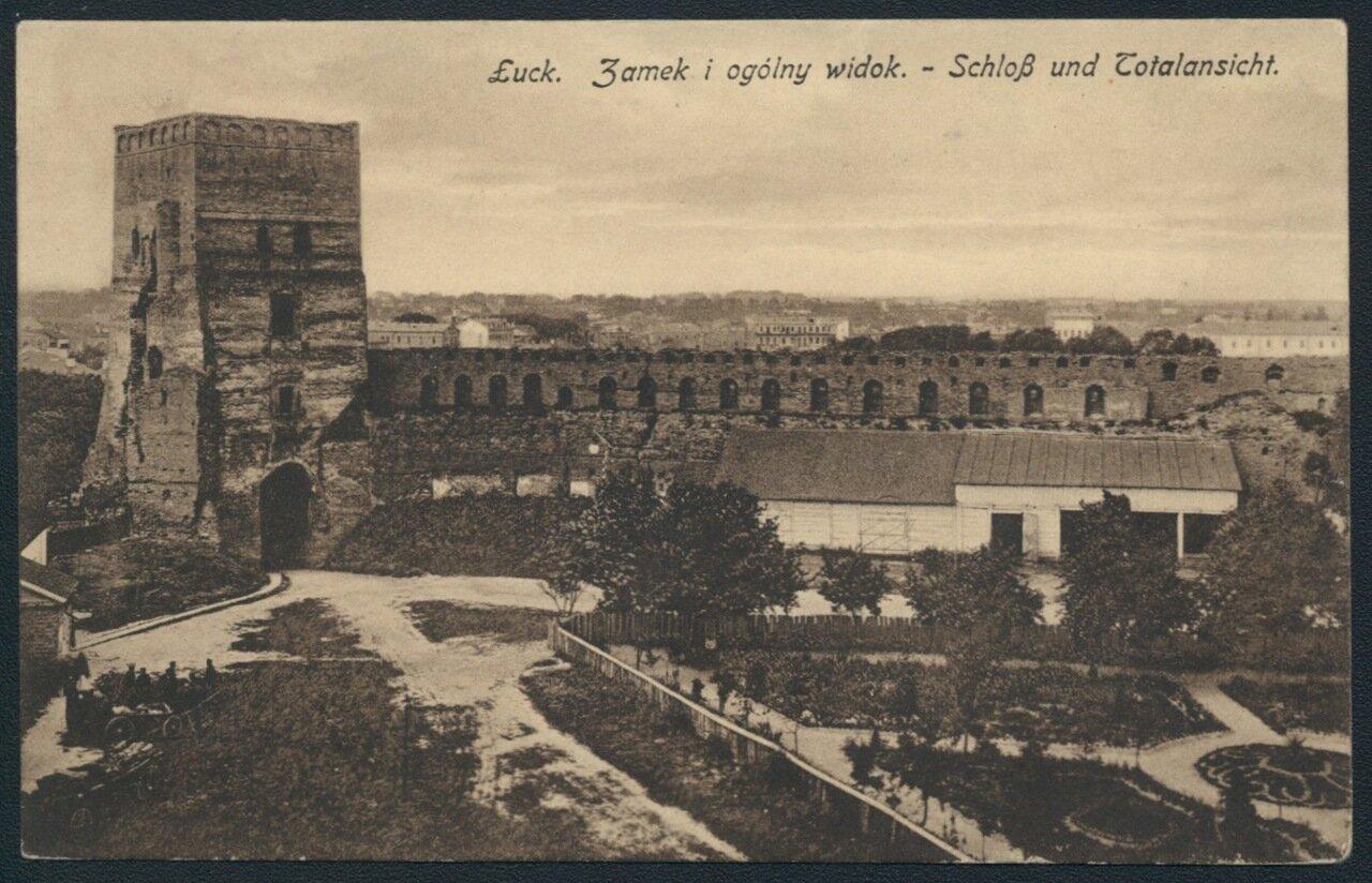 Луцкий замок и общий вид. 1918.