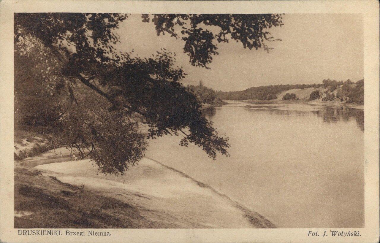 Берег Немана. 1914