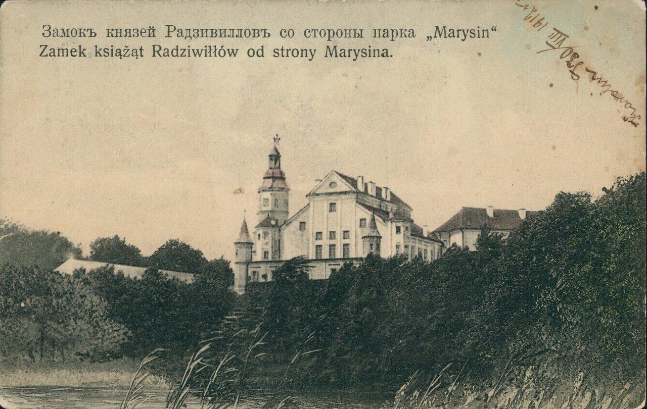 Замок князей Радзивиллов со стороны парка