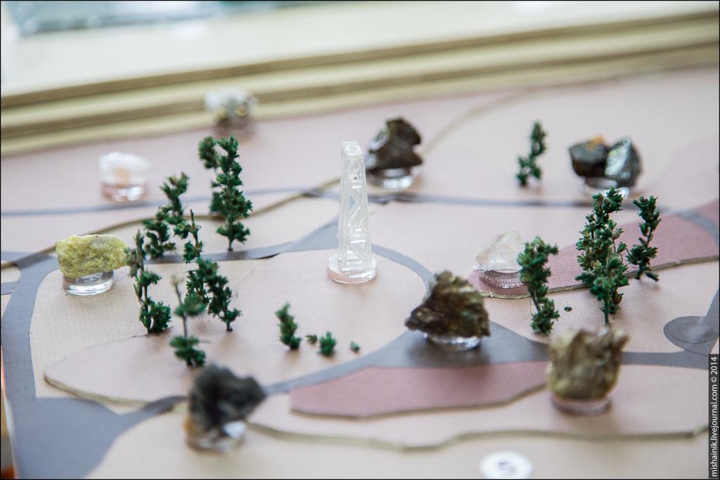 Геологический музей «Штуфной Кабинет» г. Североуральск