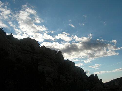 Скалы Колорадо. Осеннее утро.