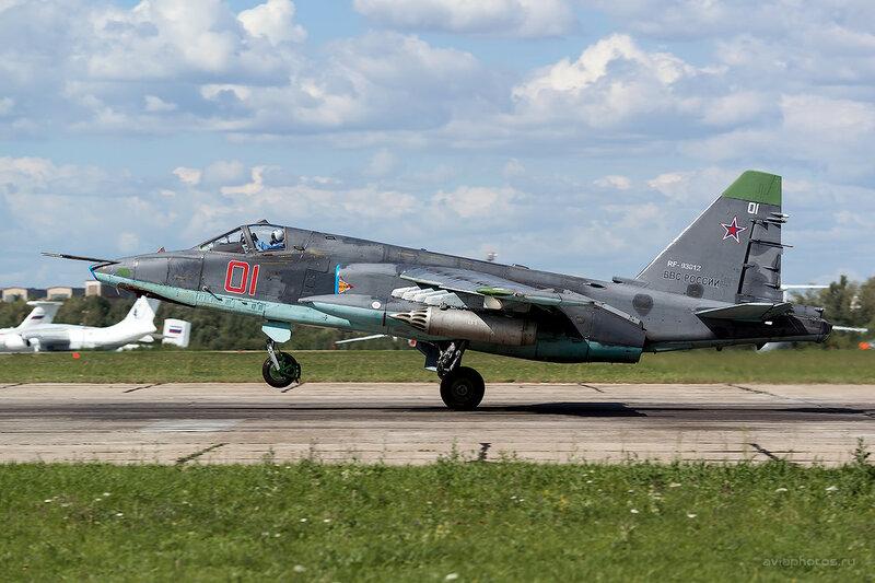 Сухой Су-25СМ (RF-93012 / 01 красный) D800373b