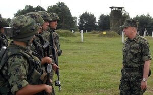 Молдавские военные принимают участие в учениях в Сербии