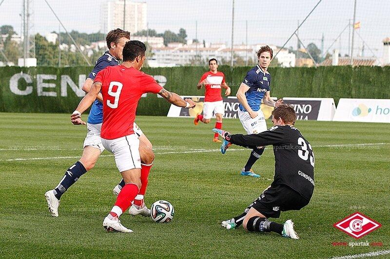 «Спартак» vs «Стремсгодсет» 3:2 контрольный матч 2014 (Фото)