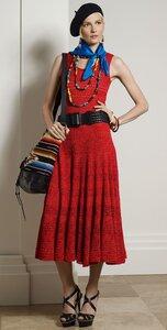 Девушка едет в Барселону - платье крючком от РЛ
