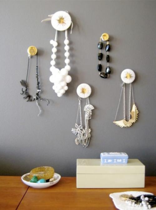 Интересные способы использования дверных и мебельных ручек