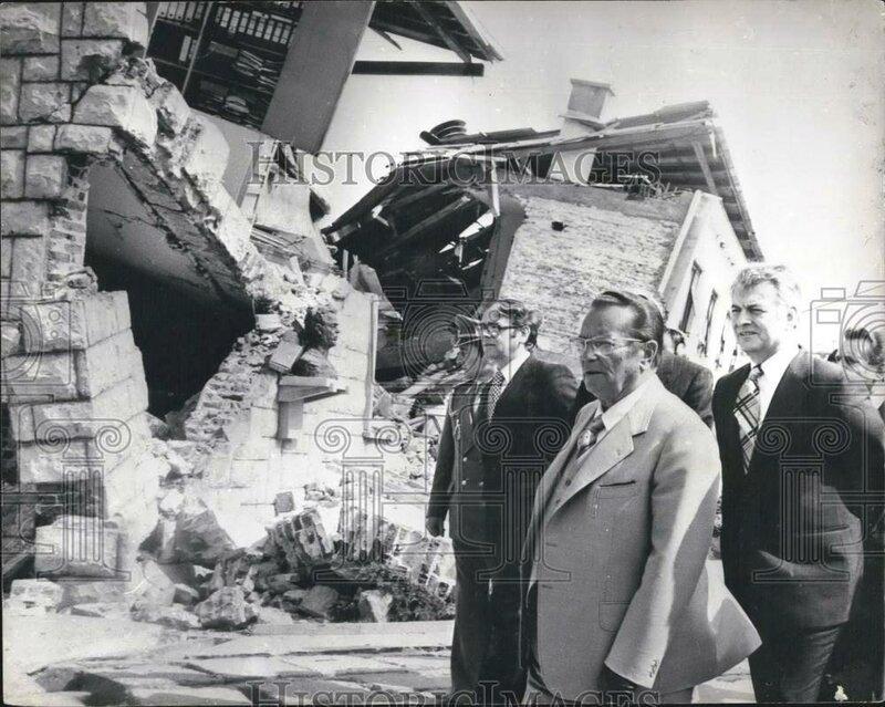 землетрясение в Черногории, 15 апреля 1979 год
