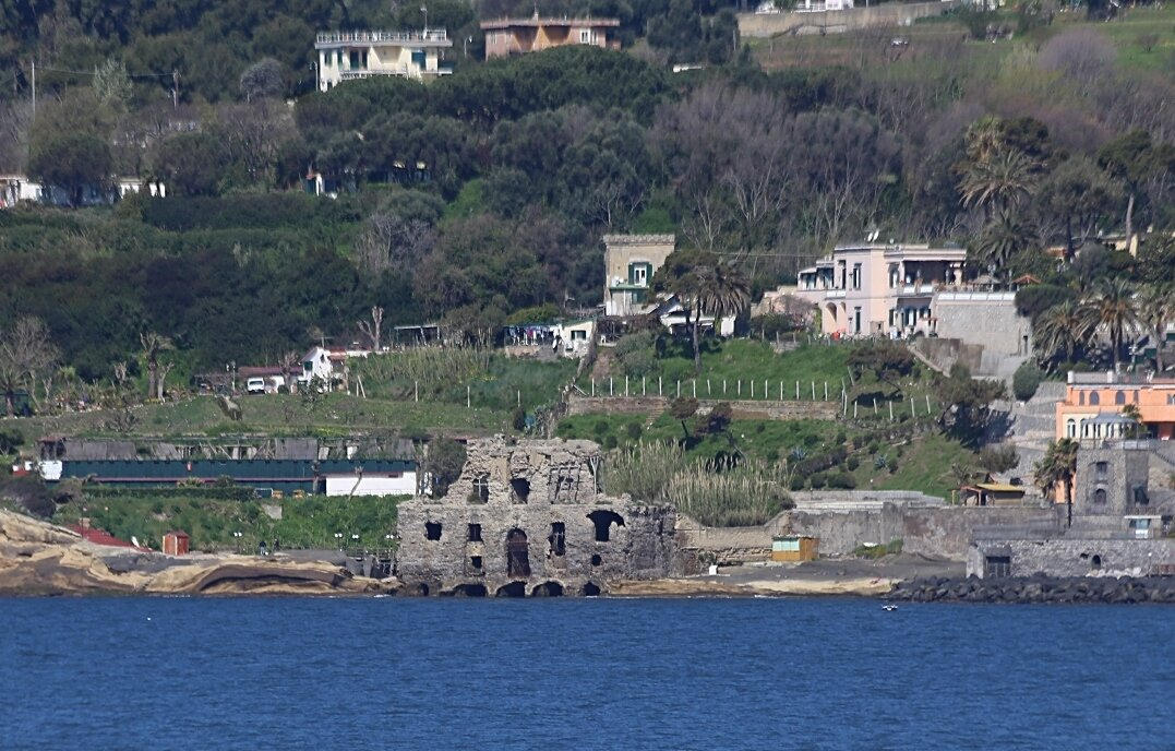 Naples. Posillipo. Casa degli Spiriti (House wth ghost)
