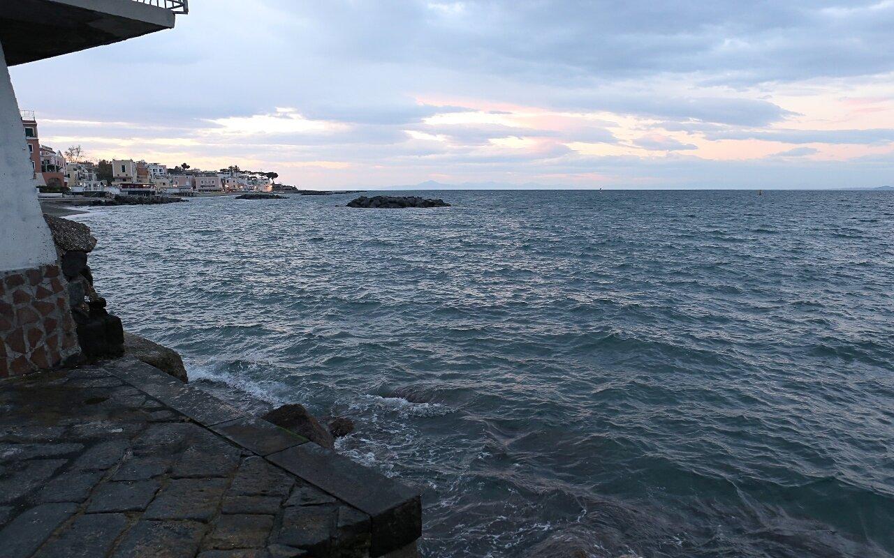 Ischia, sunset