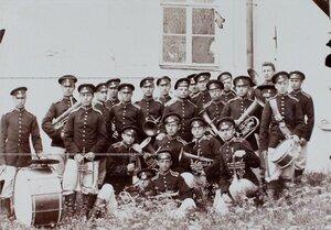 Духовой оркестр 1-й роты  Кадетского корпуса.