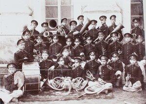 Духовой оркестр 2-й роты Кадетского корпуса.