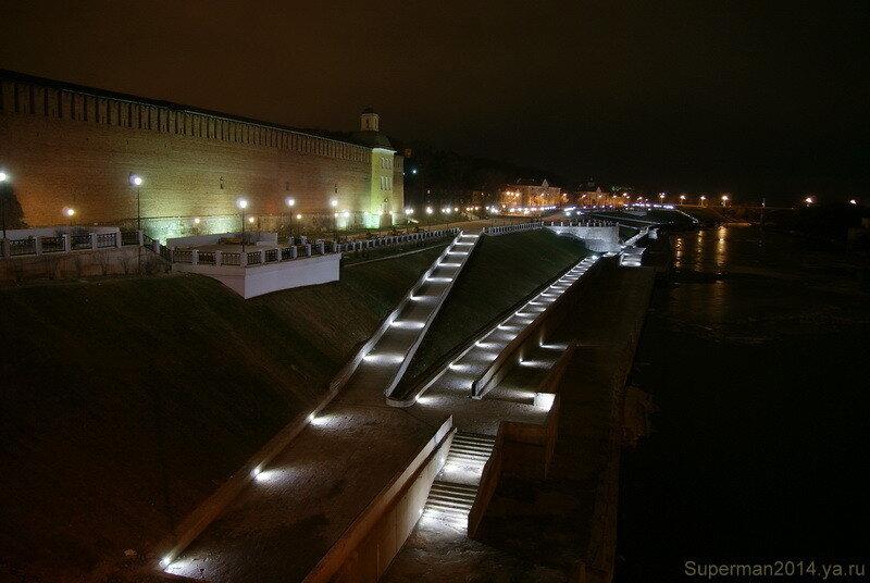 ночной Смоленск - набережная