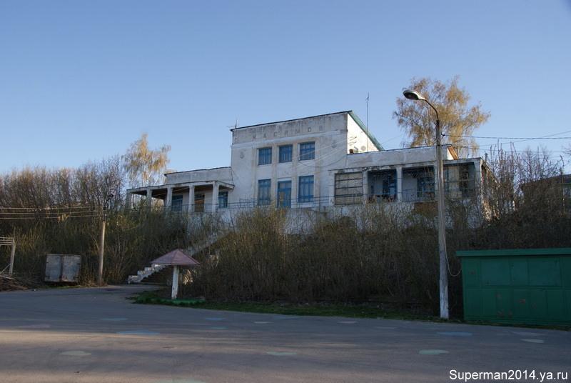 Касимов - речной порт
