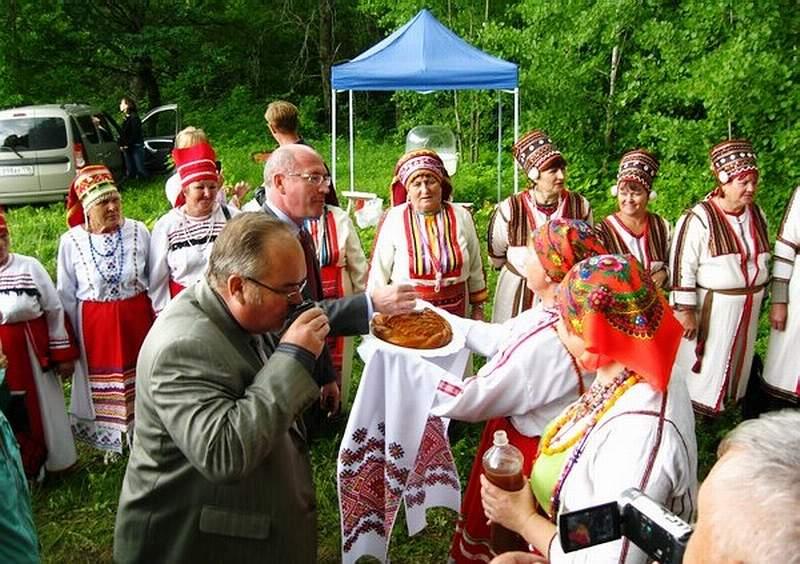 Мордовская Кармалка, праздник Балтай