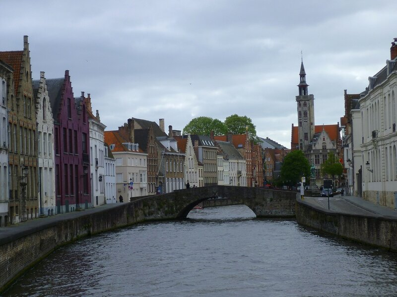 Каналы Брюгге, Бельгия (The canals of Bruges, Belgium)