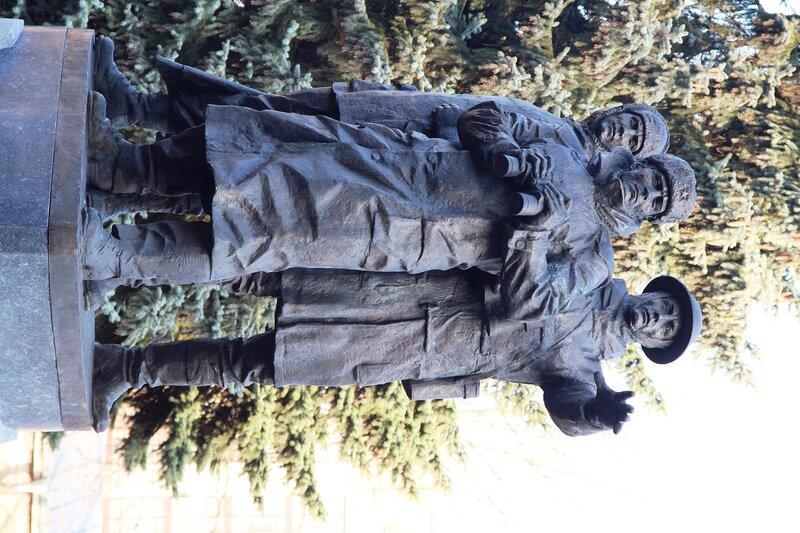 Памятник арктическим конвоям архангельск