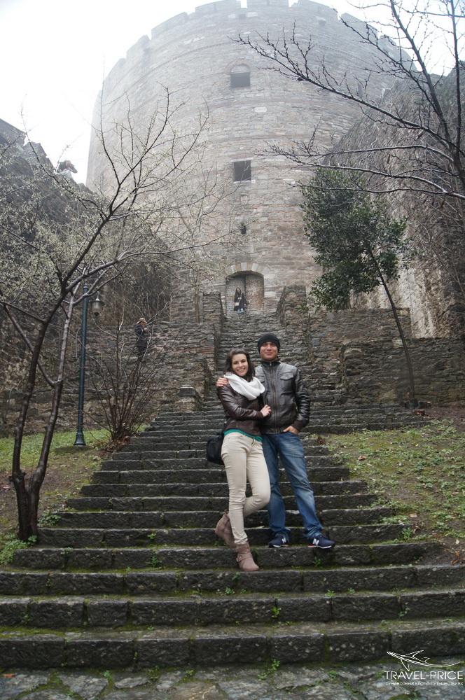фотосессия в крепости СТамбула