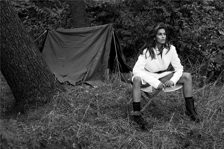 Синди Кроуфорд / Cindy Crawford & Clement Chabernaud by Sebastian Faena in V Magazine winter 2013