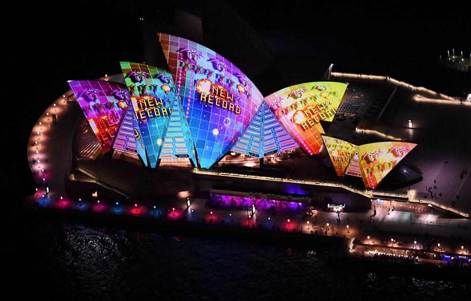 Фестиваль музыки и света Яркий Сидней