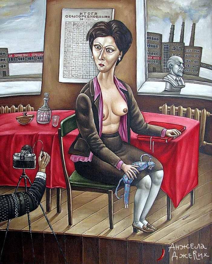 Чистое искусство - Анжела Джерих