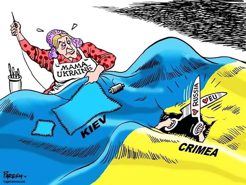 Крым и Киев (Paresh Nath)