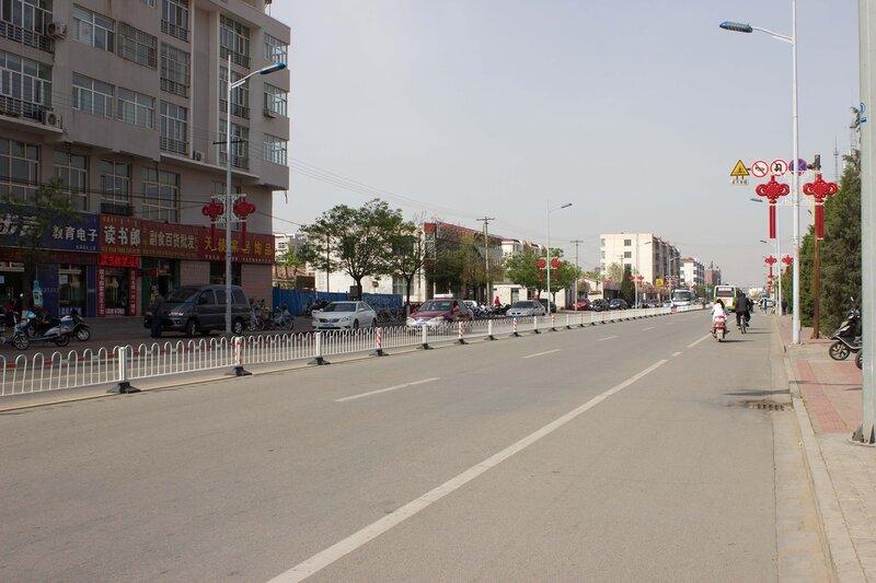 улица в Шулинчжао (Shulinzhao)