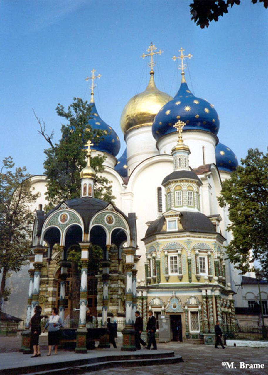Успенский собор в Троице-Сергиевой Лавре