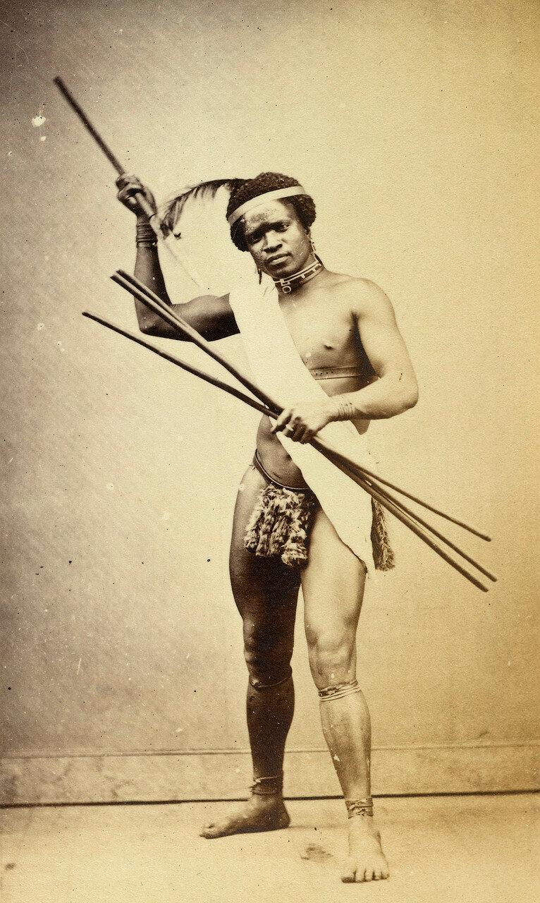 Зулусский воин