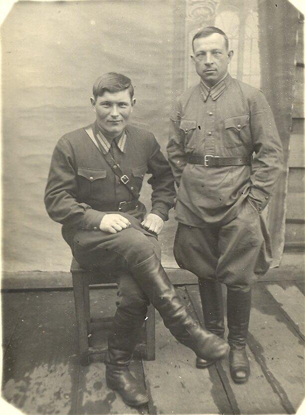 НКВДшники, середина 1930-х