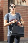 **EXCLUSIVE** Nikki Reed heads out of the gym following a morning workout in Los Angeles