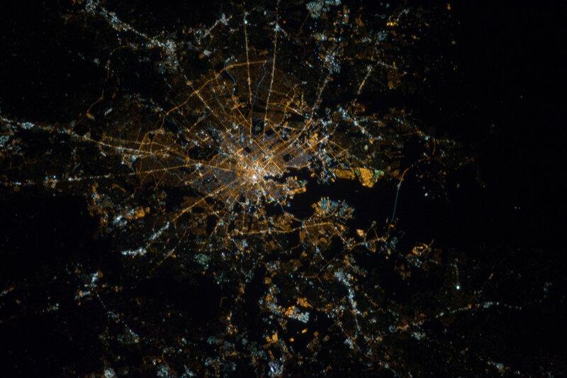 Балтимор ночью