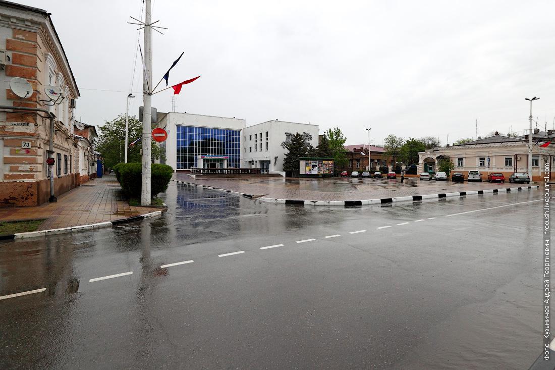 Театральная площадь, дом культуры