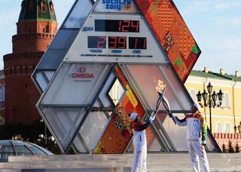 Эстафета олимпийского огня в Сочи станет рекордной по продолжительности